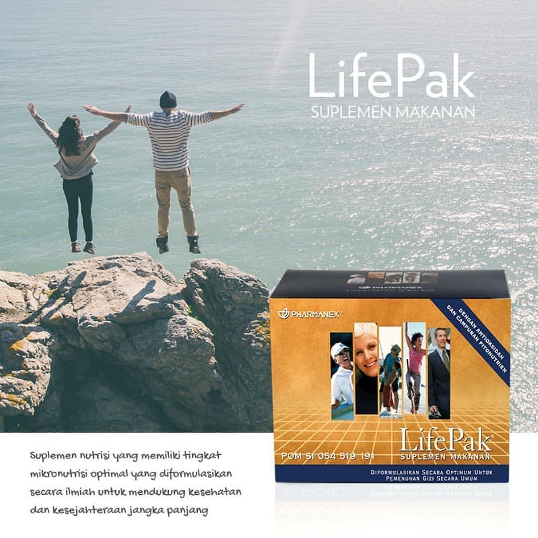 LifePak Nu Skin Manfaat Dan Komposisi nya